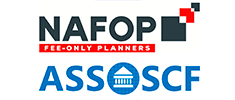 Logo NAFOP  The National Association of Fee Only Planners